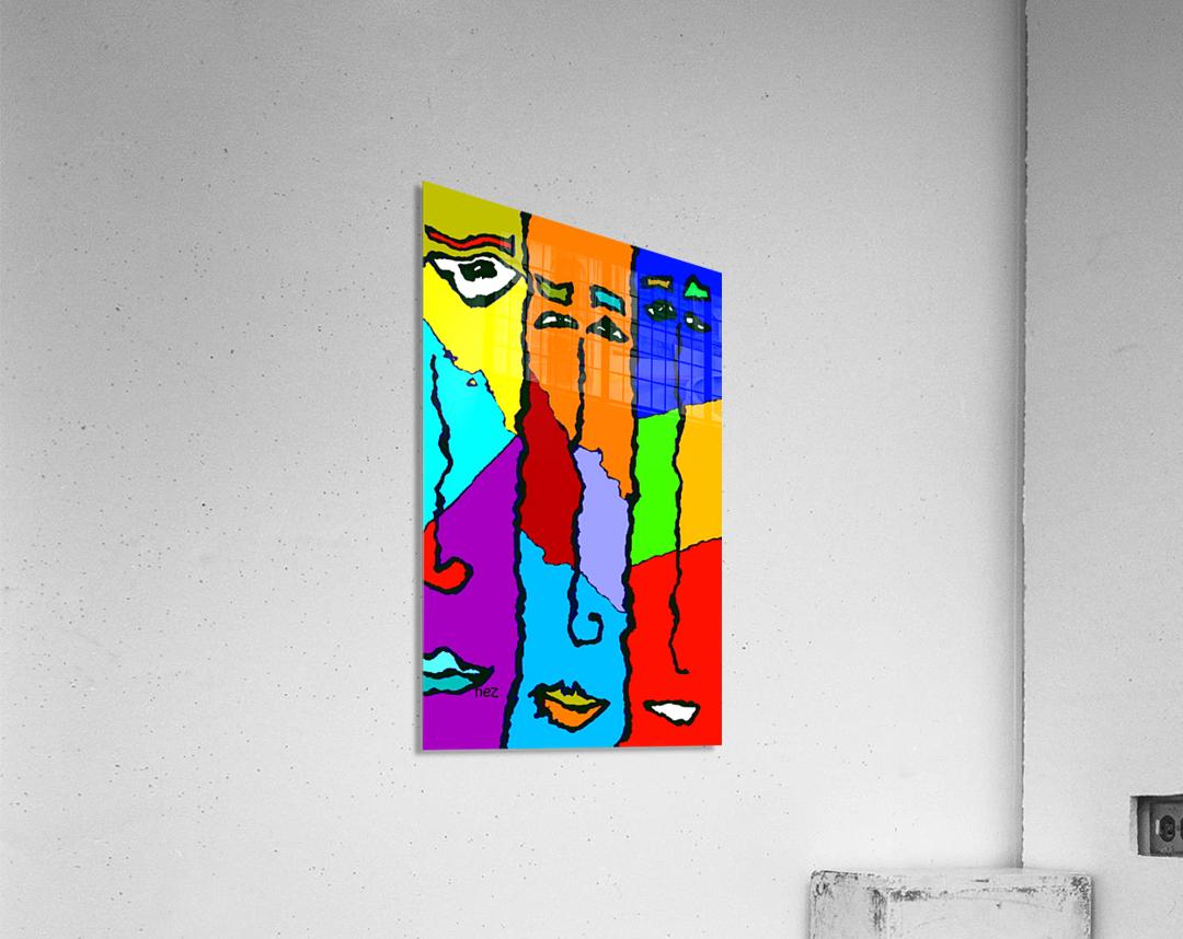 Three Friends  Acrylic Print