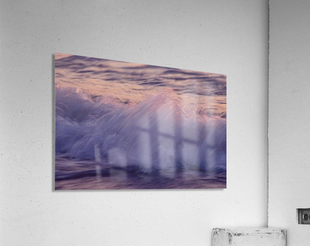 Lake Erie waves 4  Acrylic Print