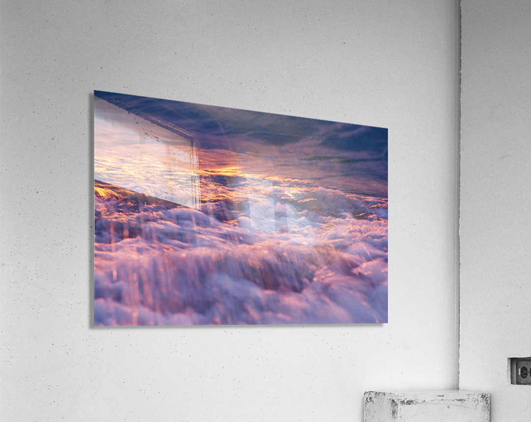 Lake Erie waves 3  Acrylic Print