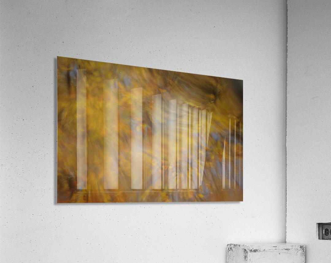 Autumnal swirls reflections 2  Acrylic Print