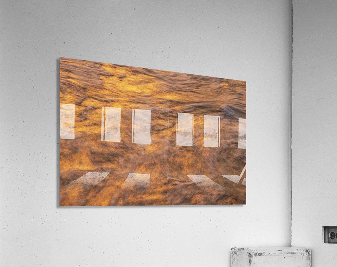 Lake Erie waves 1  Acrylic Print