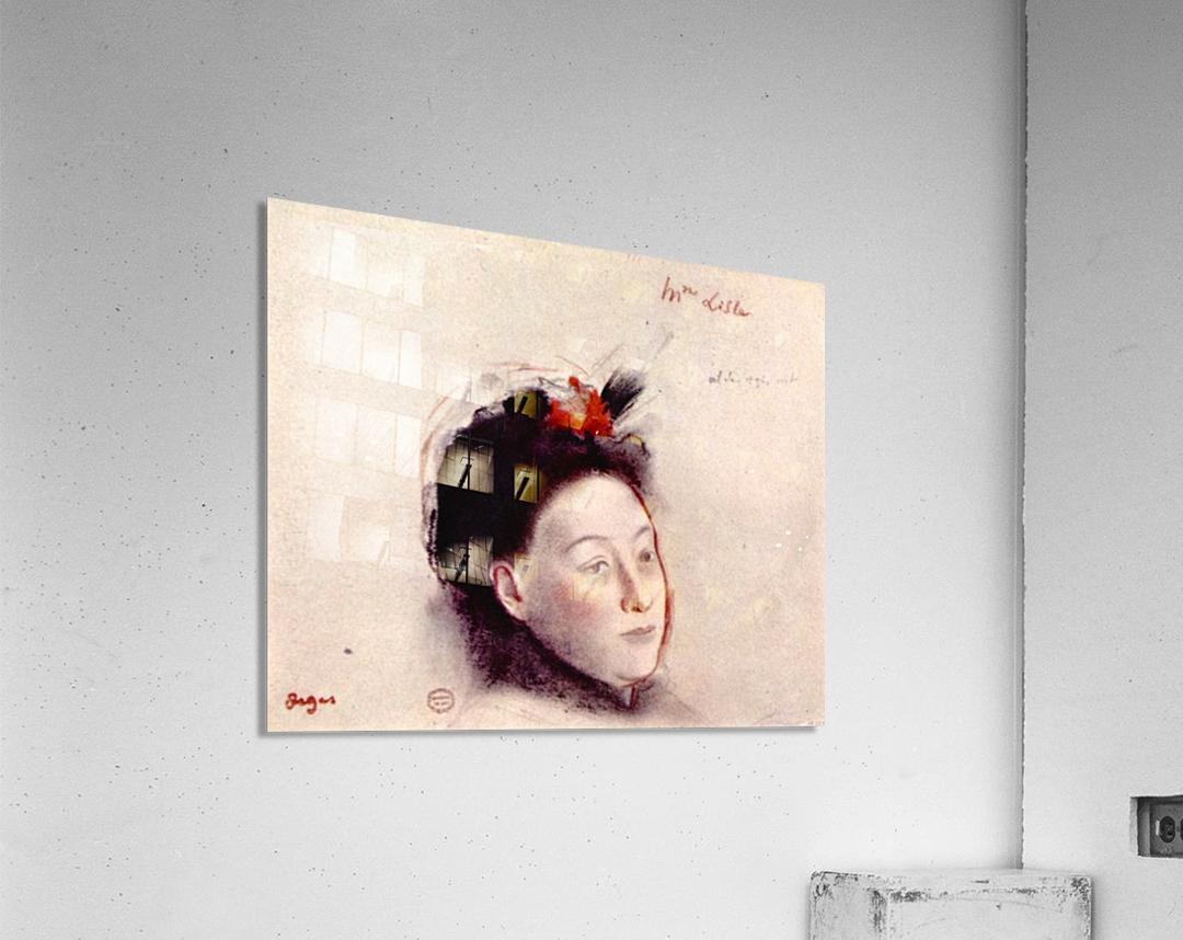 Portrait of Madame Lisle by Degas  Acrylic Print