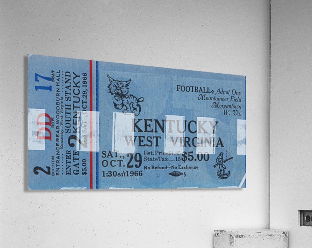 1967 Kentucky vs. West Virginia  Acrylic Print
