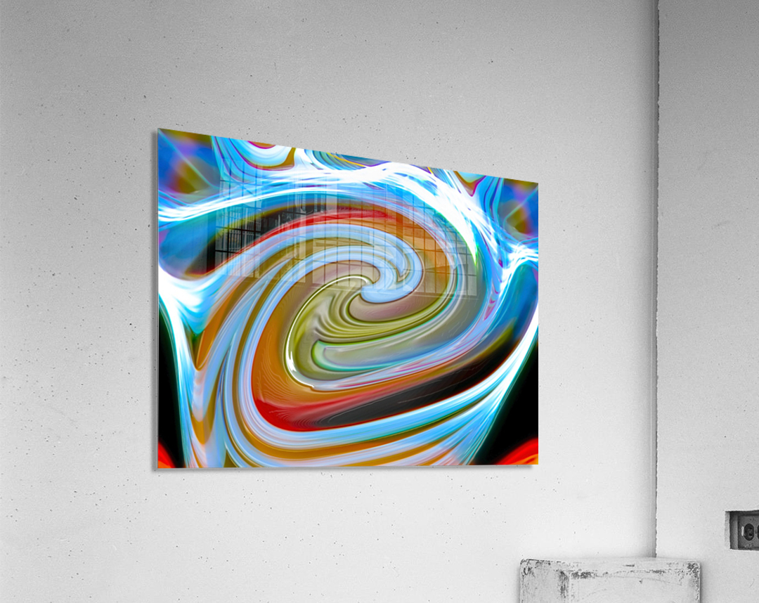 WORLD WIND  Acrylic Print