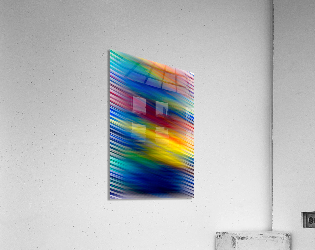 STREEKO COLORS  Acrylic Print