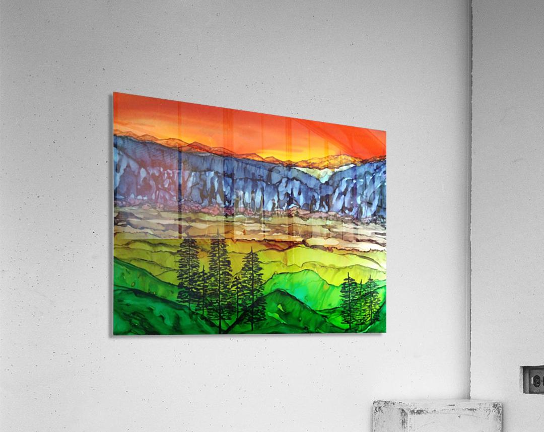 Hidden Canyon  Acrylic Print