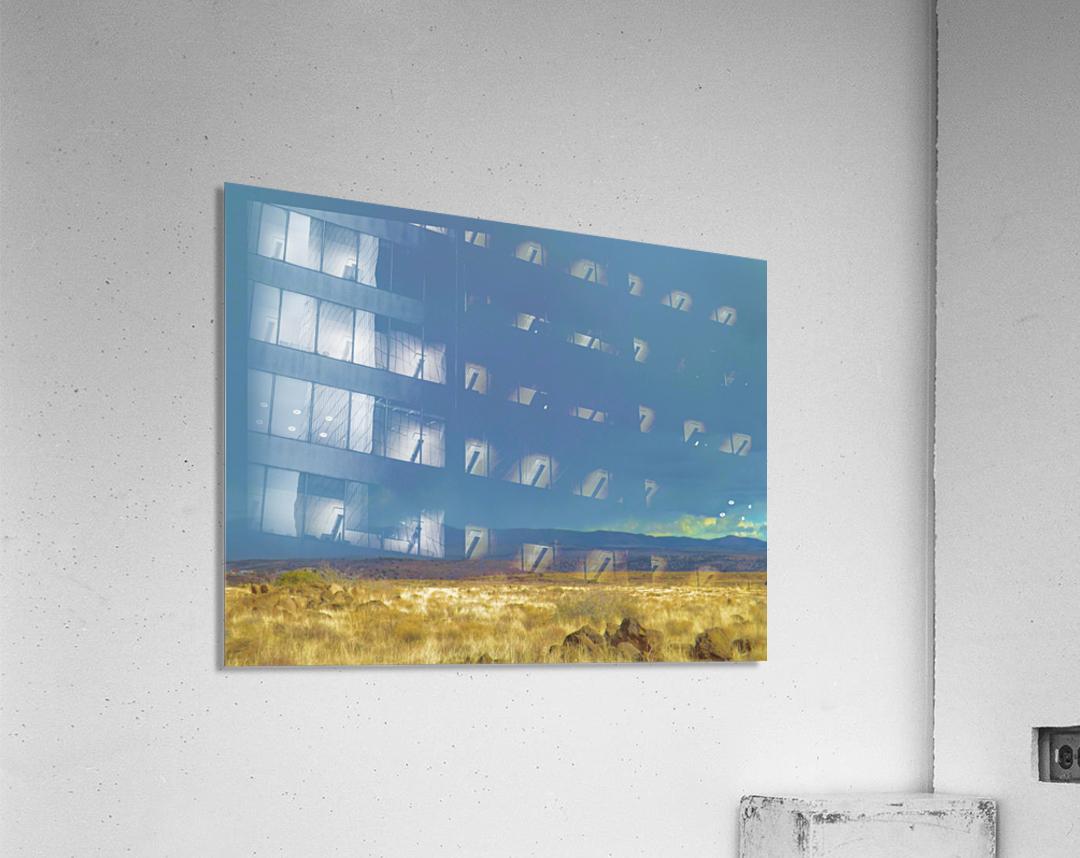 The Storm  Impression acrylique