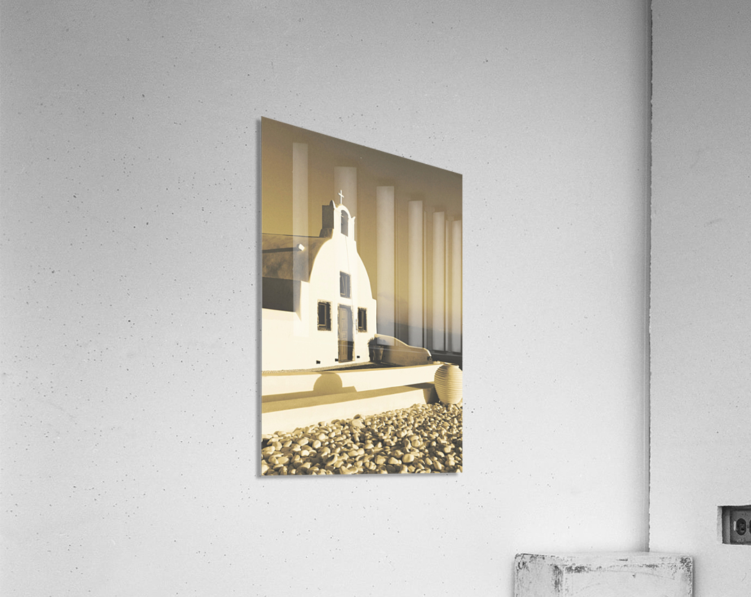 The Small Chapel  Acrylic Print