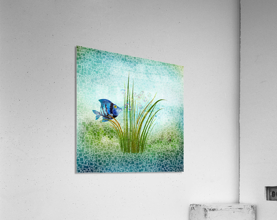 Billy the fish  Acrylic Print