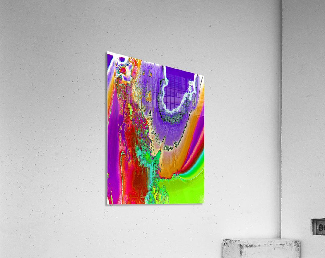 Sacred colors  Acrylic Print