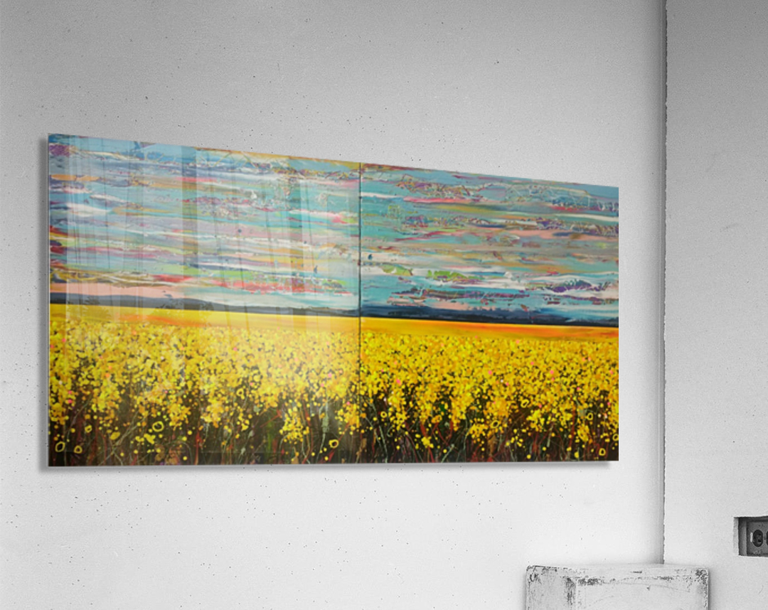 Arcadia Full Painting  Acrylic Print
