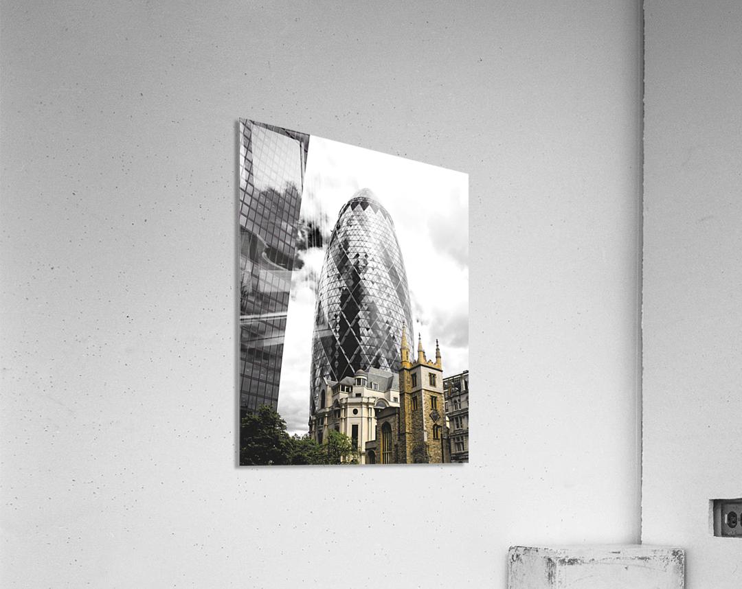 The Skyscraper  Impression acrylique