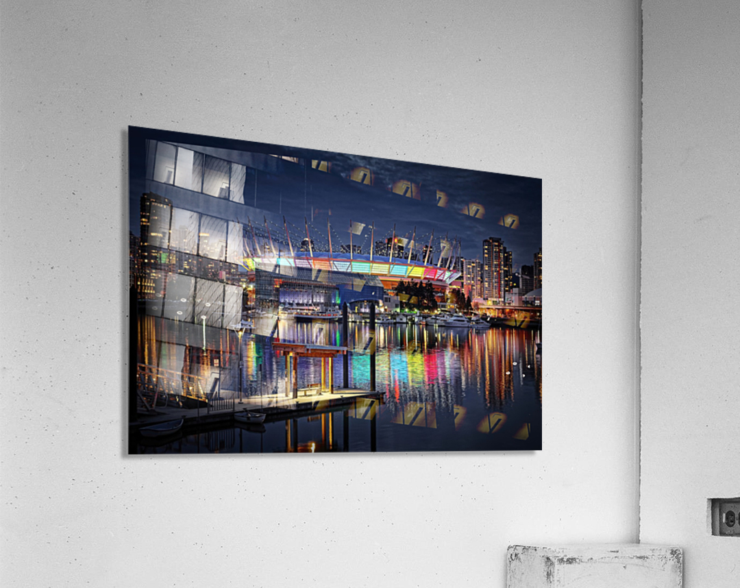 Colorful BC Place  Acrylic Print