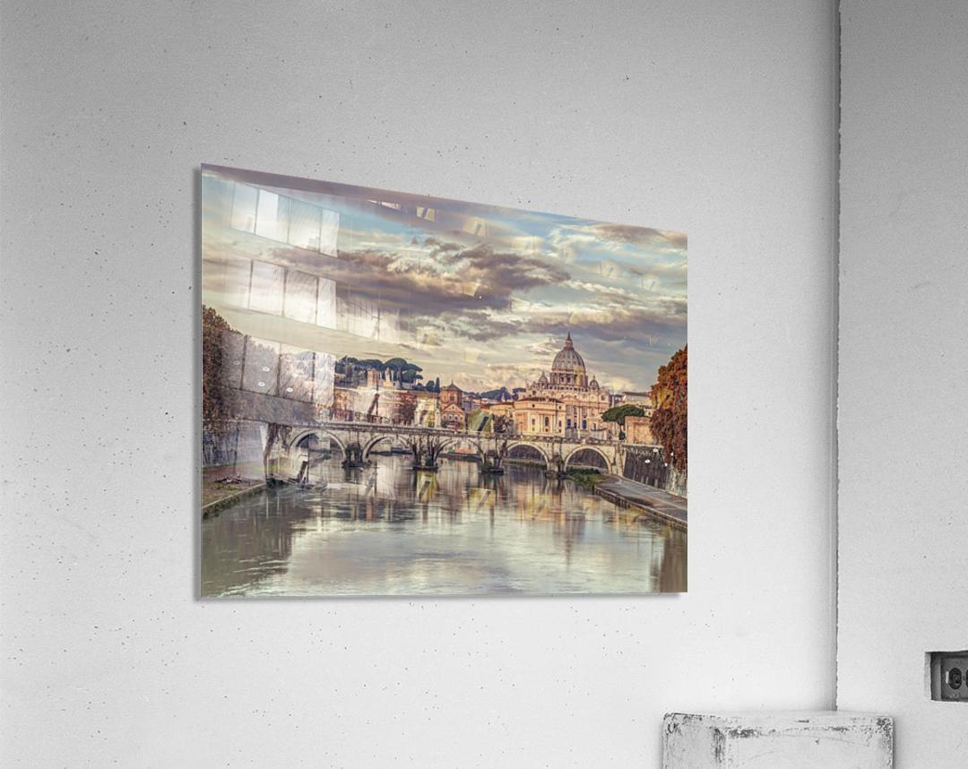 View of Basilica di San Pietro in Vatican, Rome, Italy  Acrylic Print