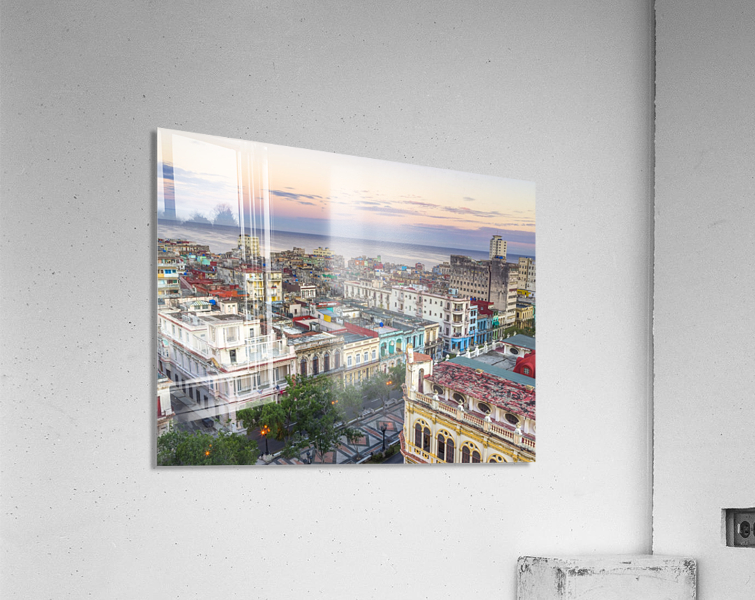 Havana from above  Acrylic Print