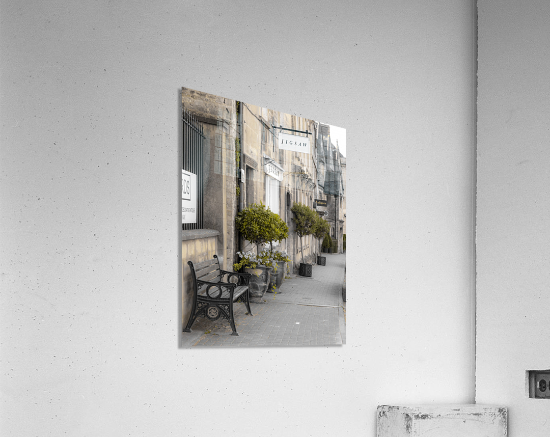 Old buildings in Tetbury town, Cotswolds  Acrylic Print