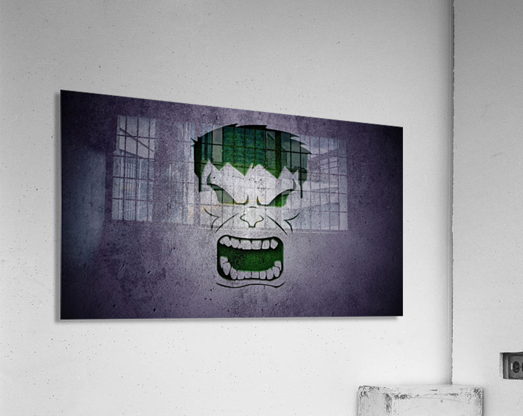 H-ulk  Acrylic Print