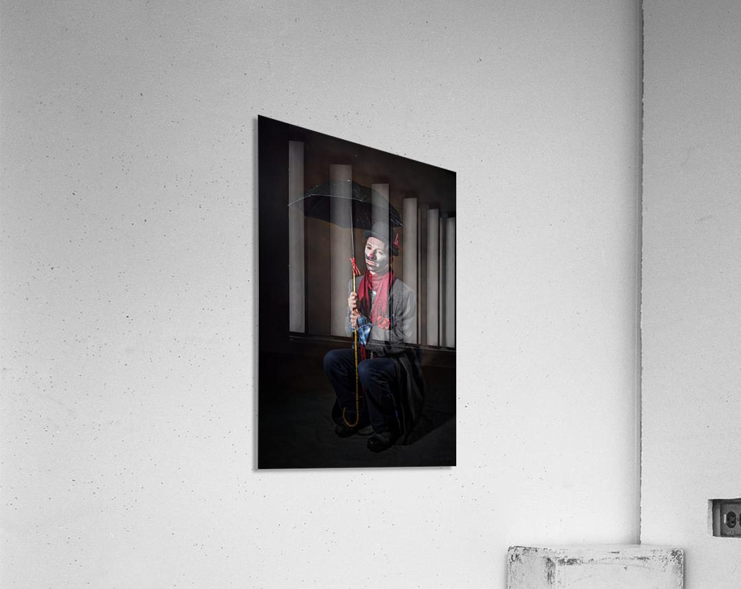 Auguste et attente  Acrylic Print