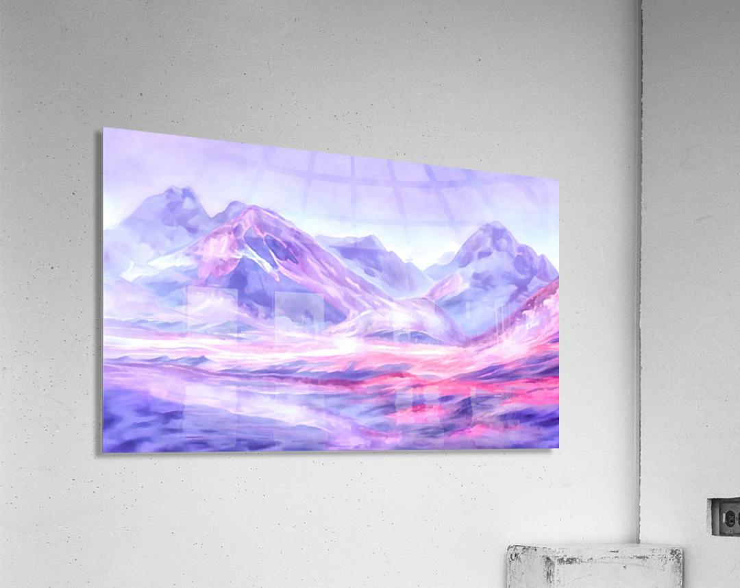 Mount Fairweather Canada  Acrylic Print