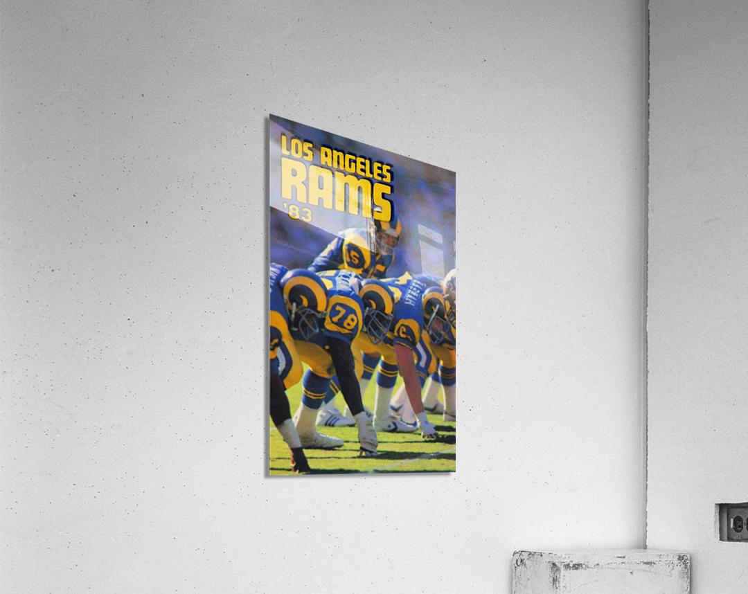 1983 Los Angeles Rams  Acrylic Print