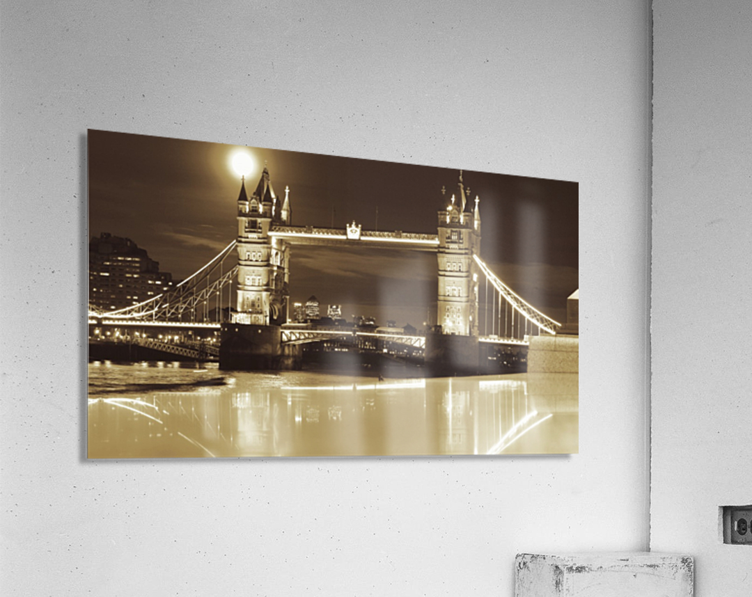 Vintage Tower Bridge - london   Acrylic Print
