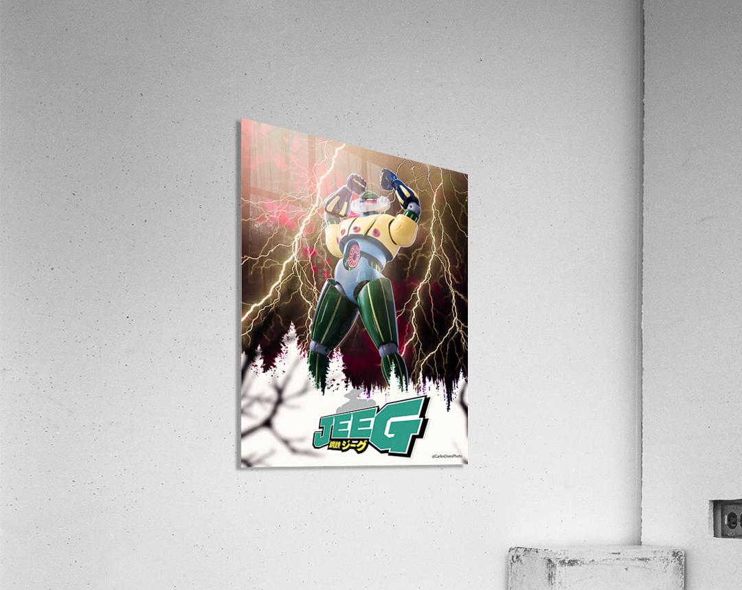 Kotetsu Jeeg - Steel Jeeg  Acrylic Print
