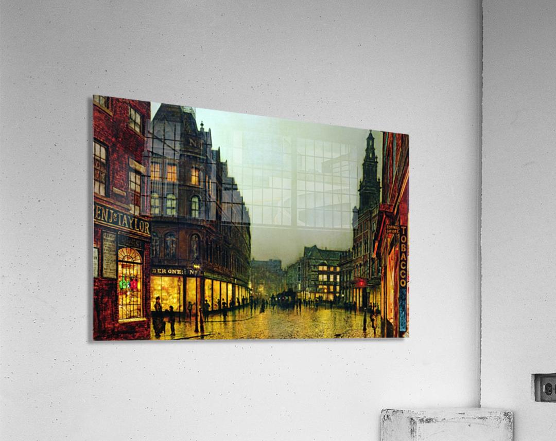 Boar Lane, Leeds  Acrylic Print