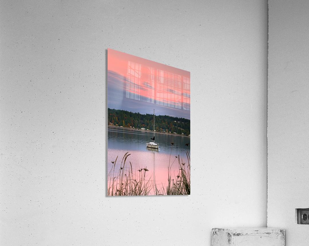 Rosy Retreat   Acrylic Print