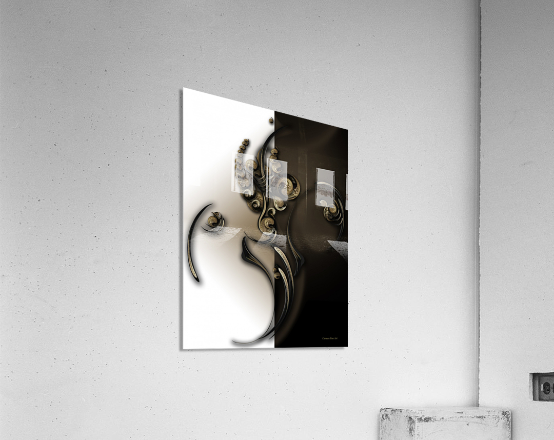 Sphere with Context  Acrylic Print