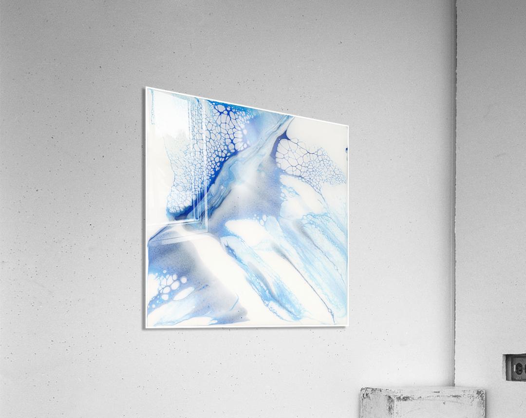 Slip  Acrylic Print