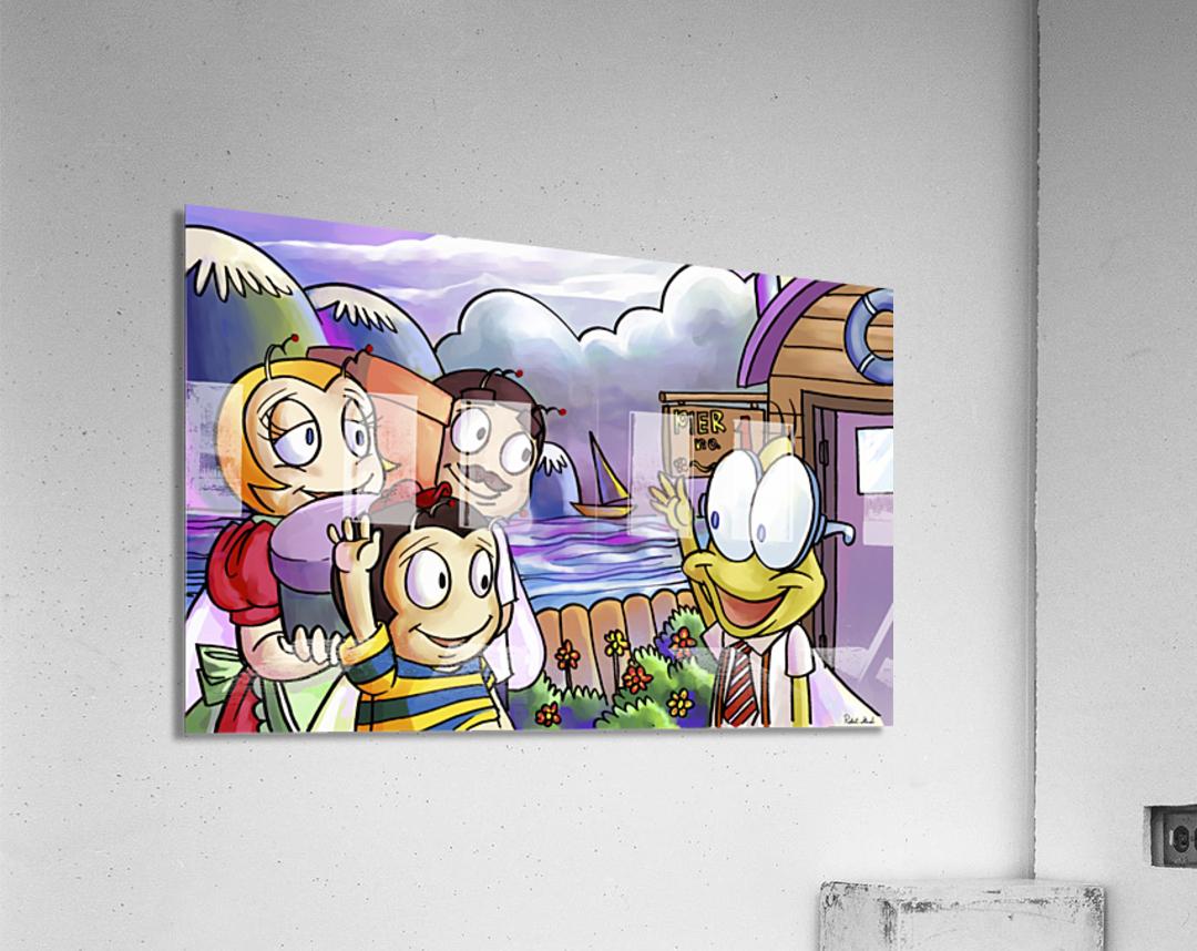 A Dream of Summer - Hello My Friend  Acrylic Print