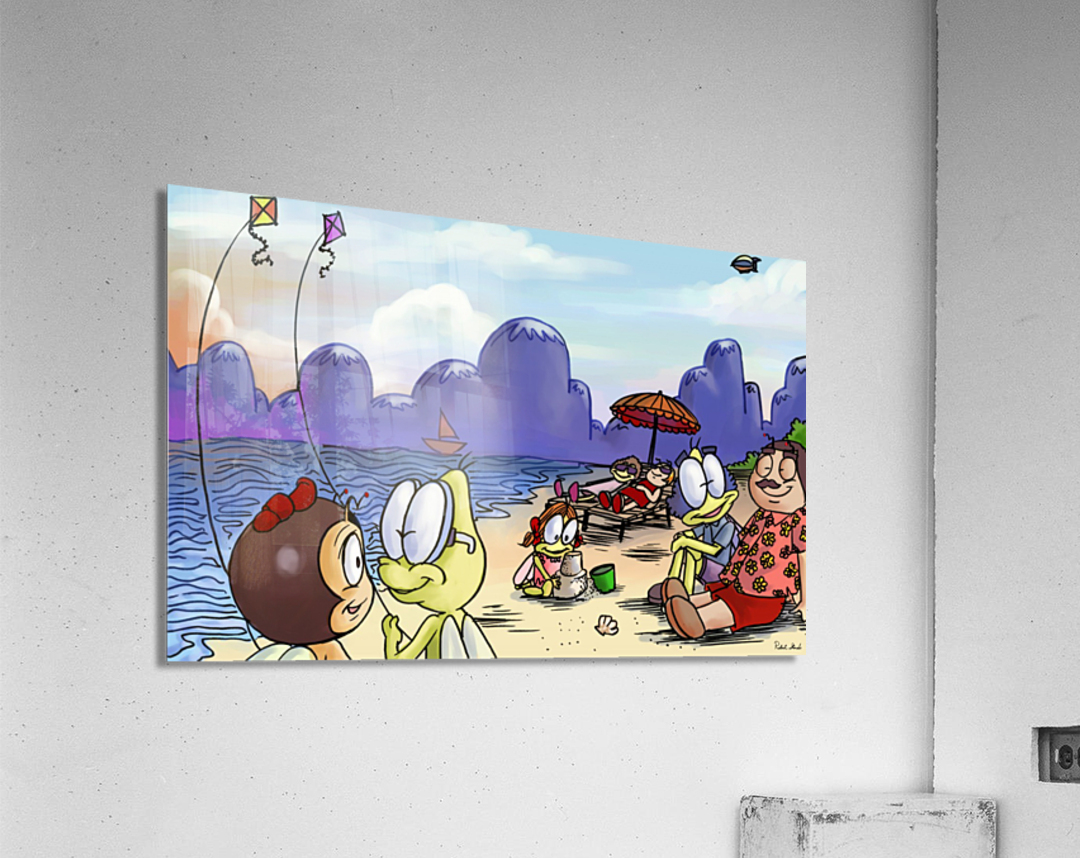 A Dream of Summer - Kites  Acrylic Print
