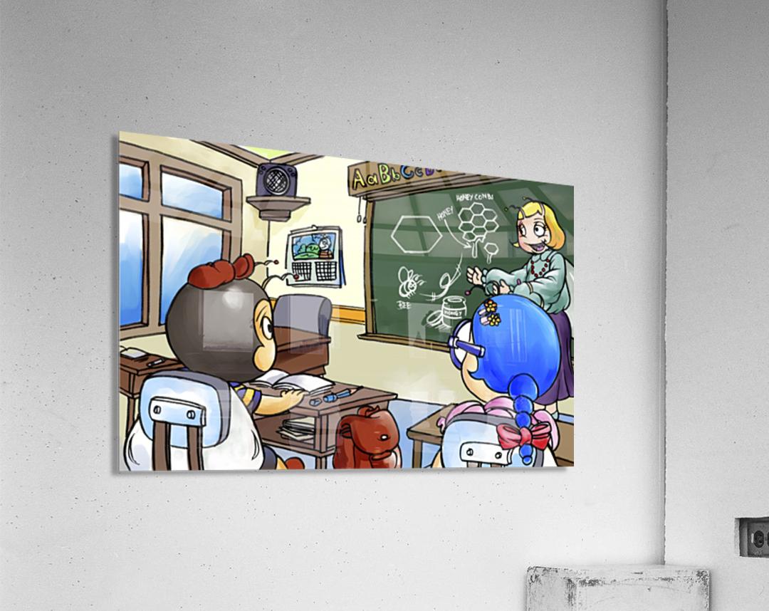 School Days - Teacher - Bugville Critters  Acrylic Print