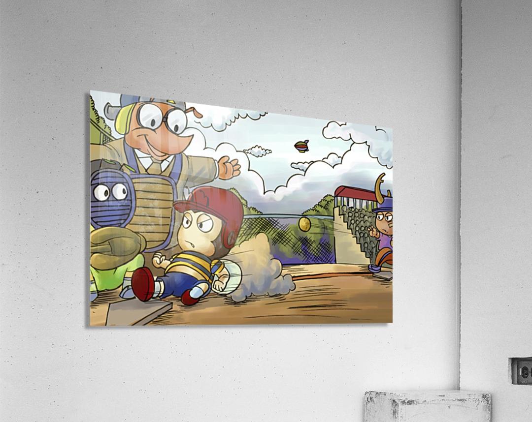 Home base slide  Acrylic Print