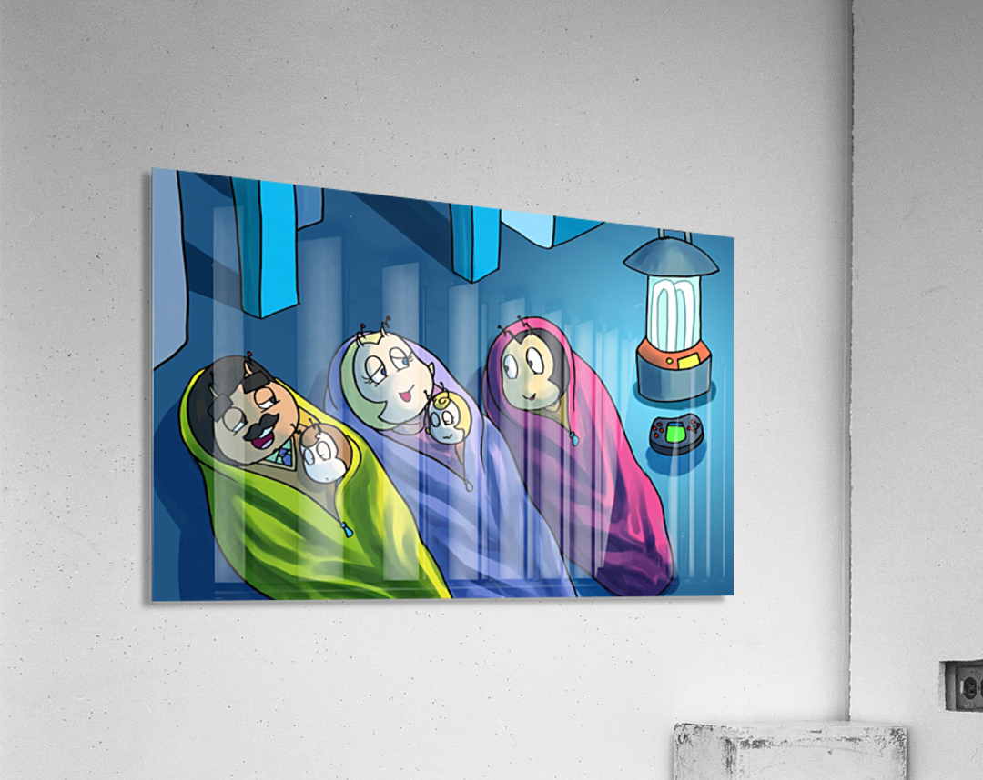 Staying In - Bedtime  Acrylic Print