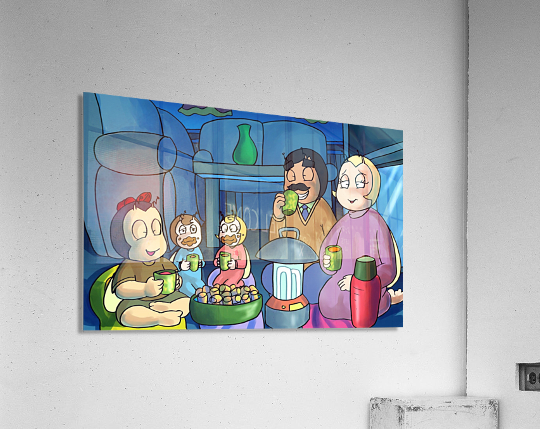 Staying In - Power outage  Acrylic Print