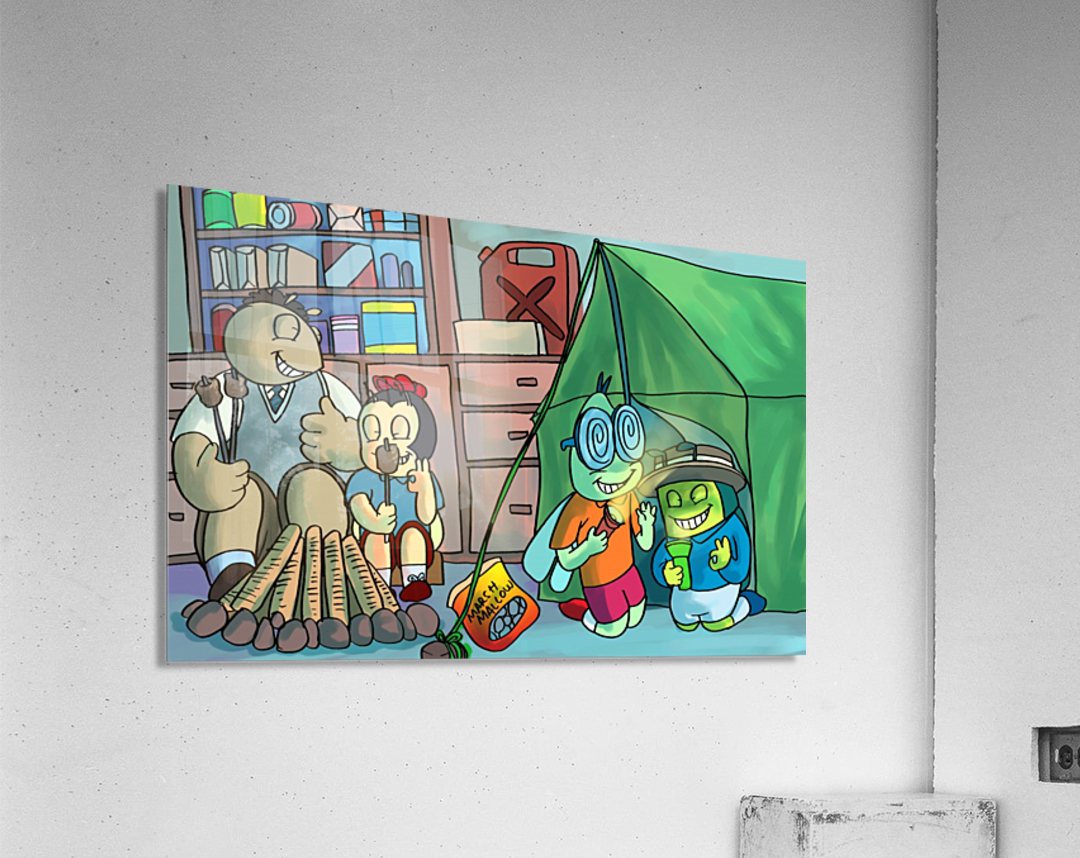 Blanket Fort - Bugville Critters  Acrylic Print