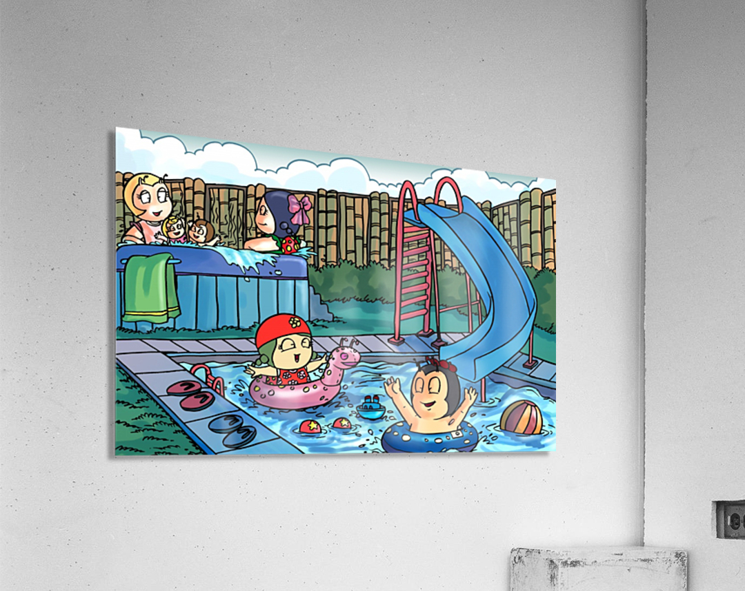 Pool Party  Acrylic Print