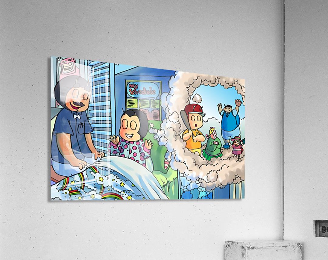 Baseball dreams - Bugville Critters  Acrylic Print