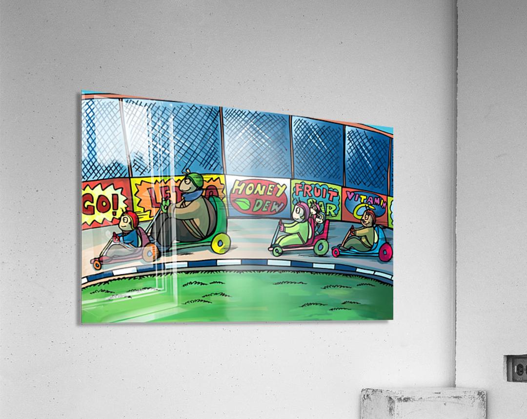 Go Karts - Bugville Critters  Acrylic Print