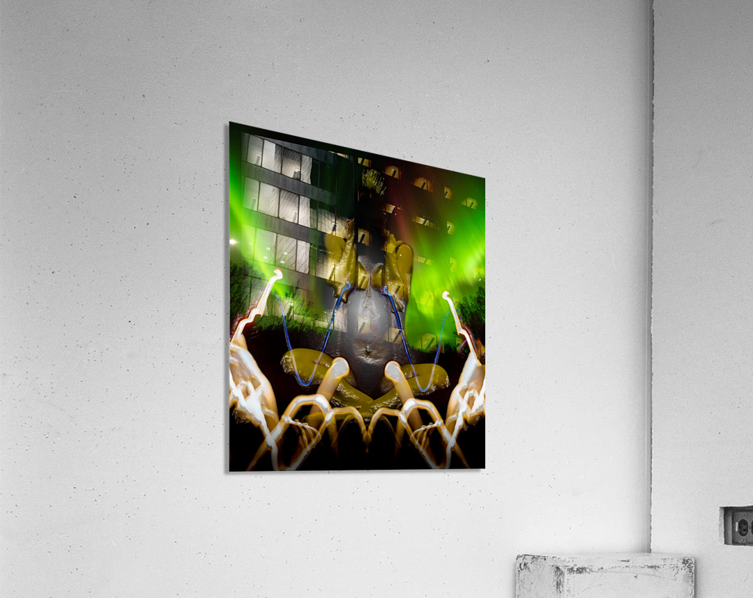 AURORA LANDING  Acrylic Print