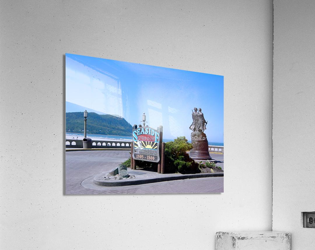 Seaside Oregon   Snapshot in Time  Acrylic Print
