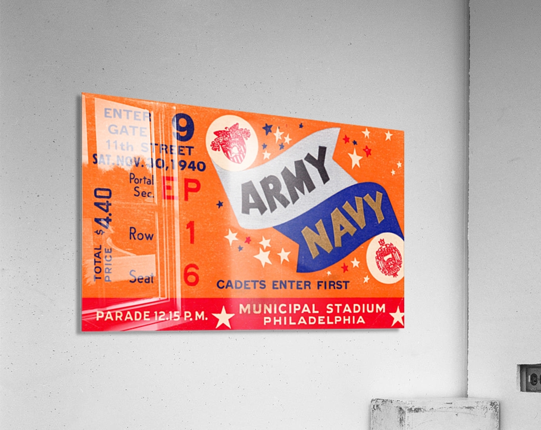 1940 Army Navy Game  Acrylic Print