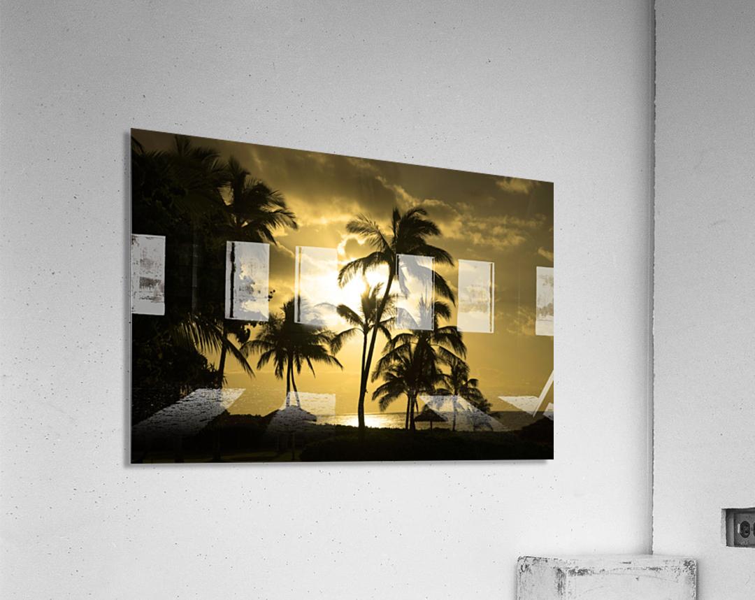 Paradise Dreams  Acrylic Print