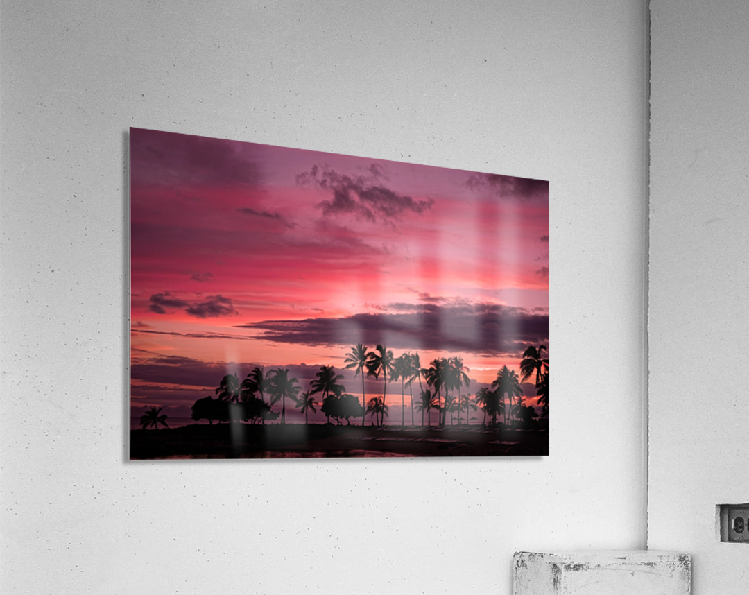 Ease into the Night  Acrylic Print