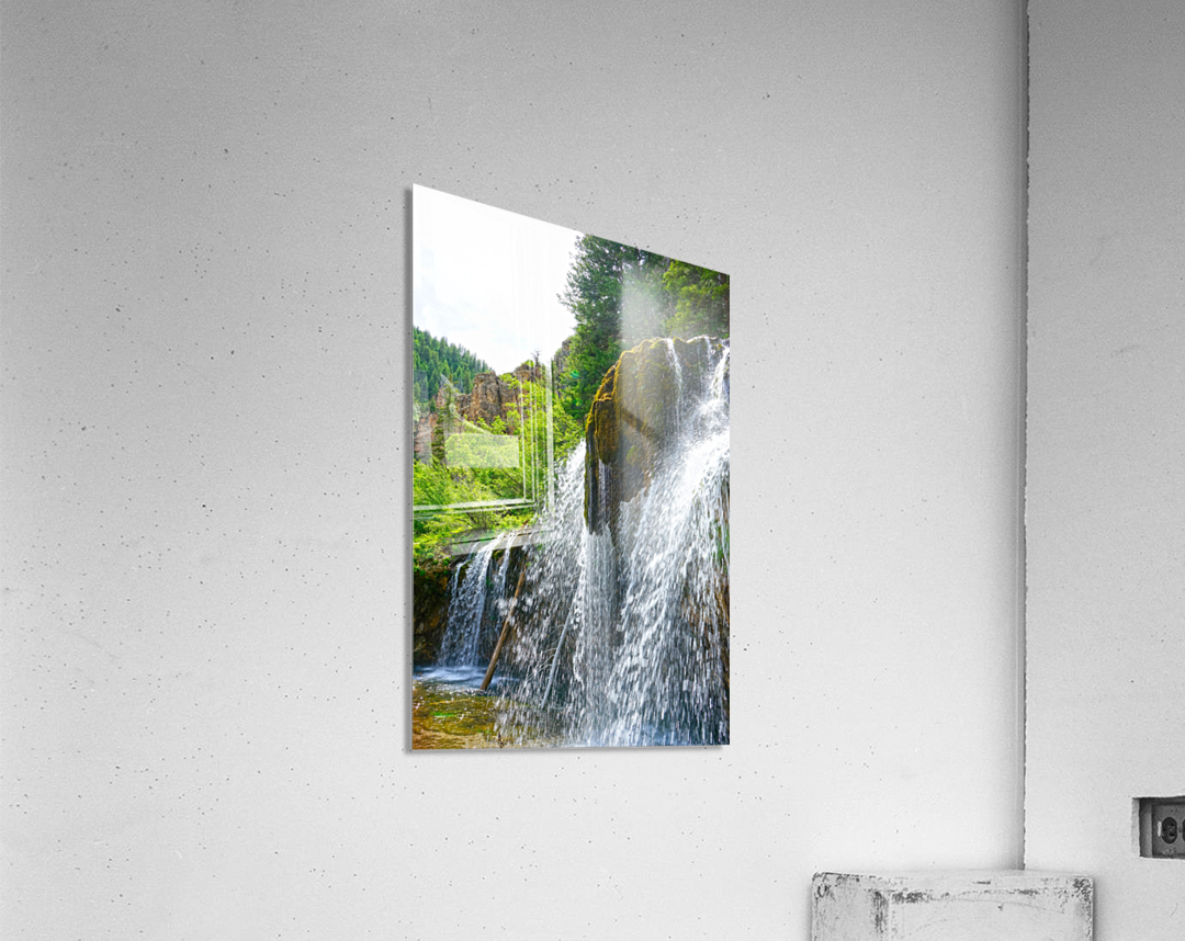 Wild Back Country  Acrylic Print