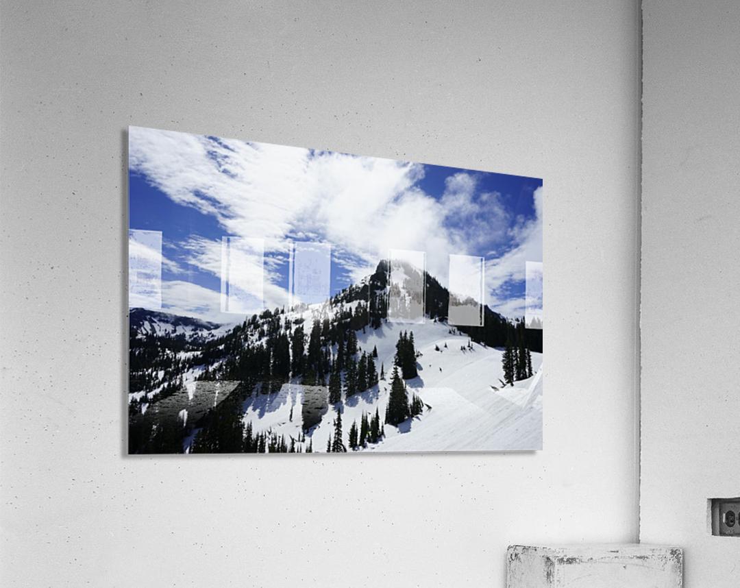 Powder  Acrylic Print
