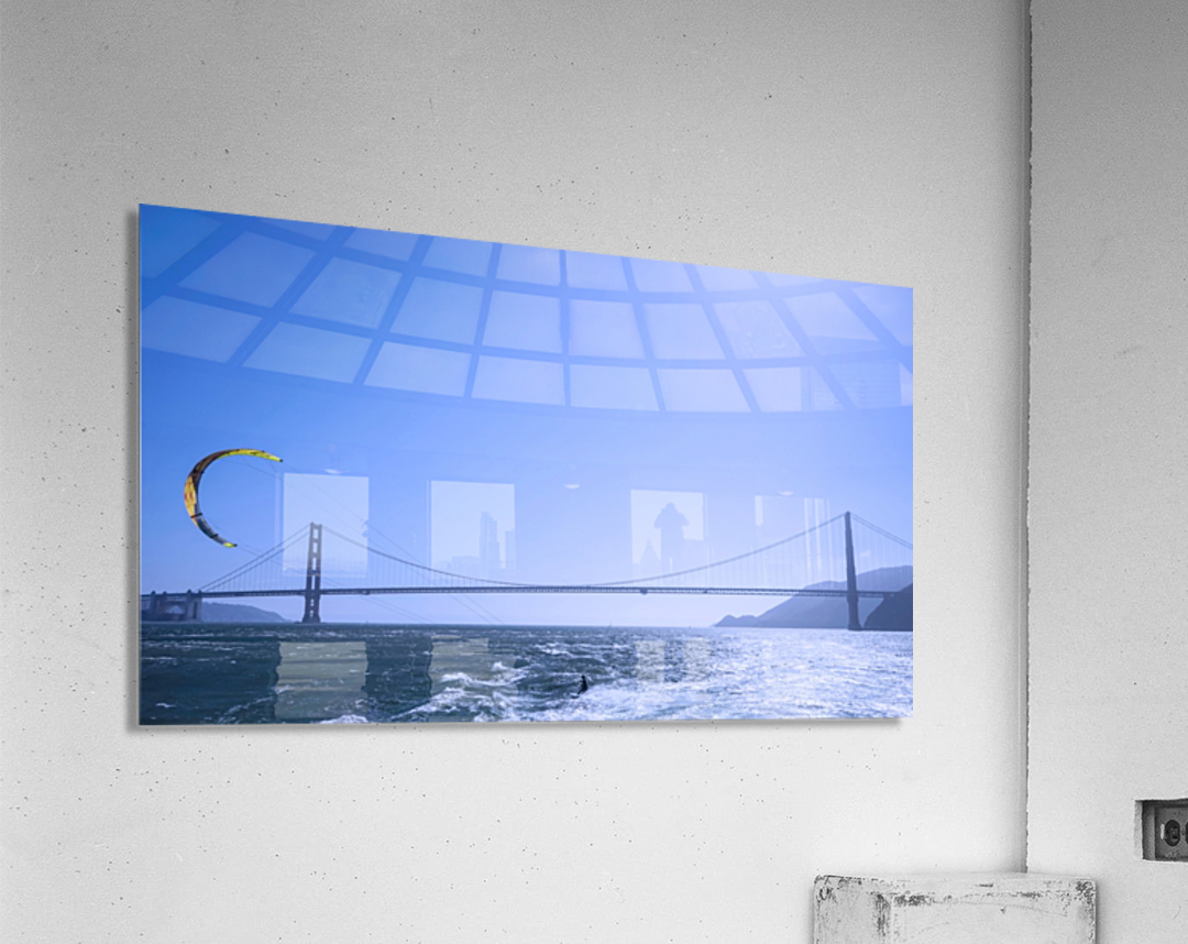 Wind Surf the Bay @ San Francisco  Acrylic Print