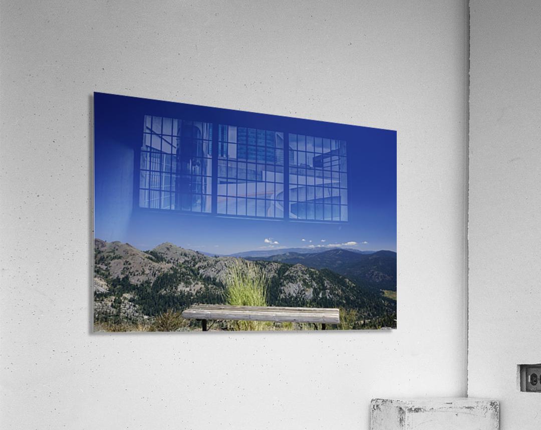 Open Seating  Acrylic Print