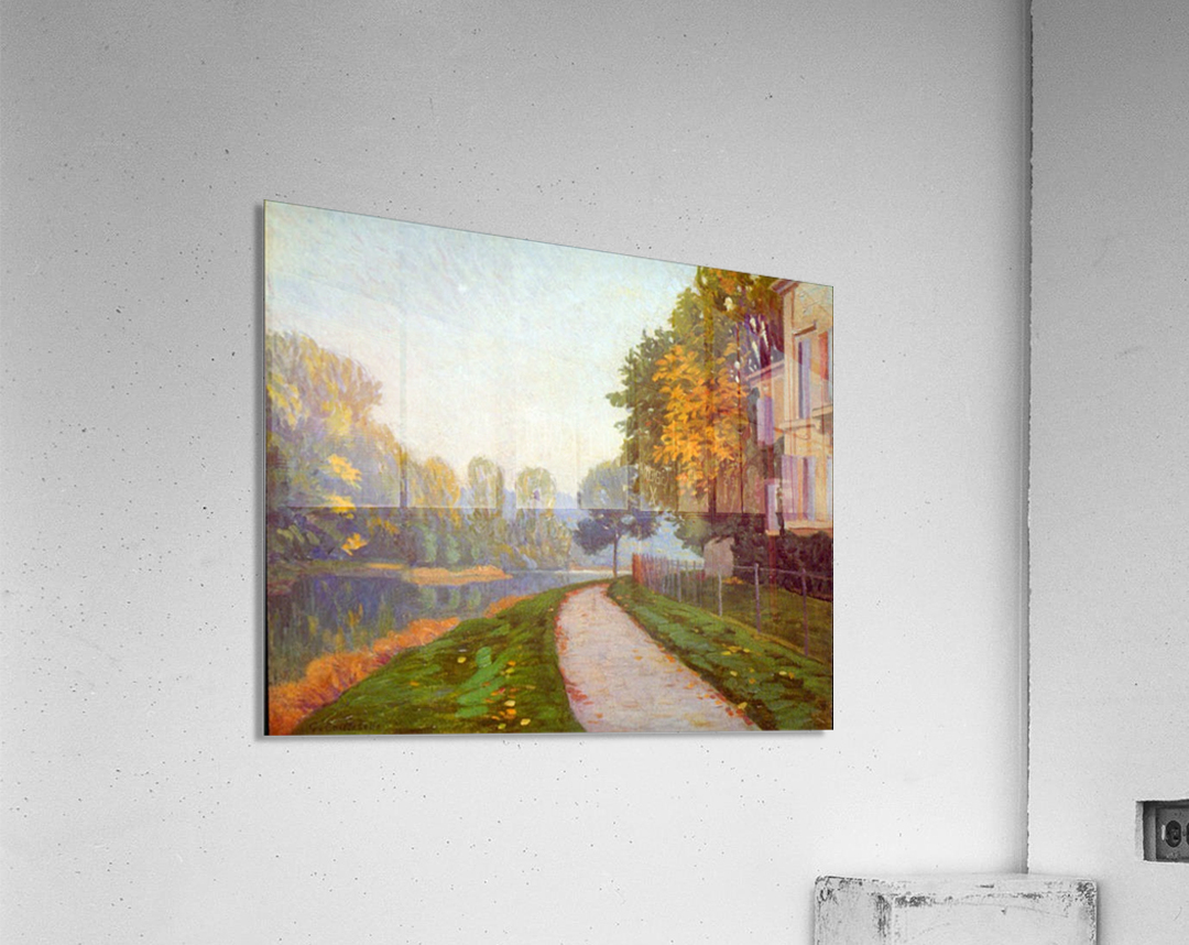 Riverbank by Cailiebotte  Acrylic Print